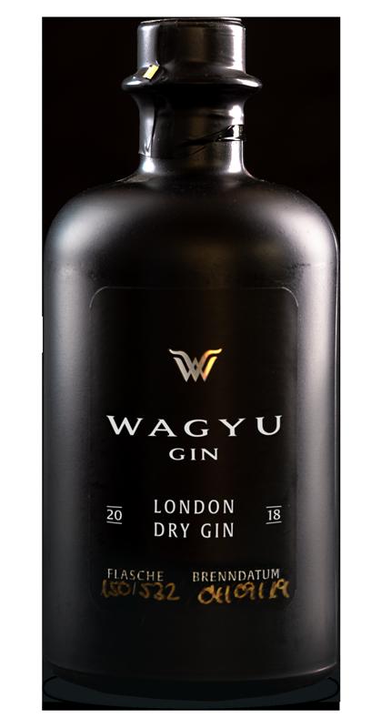 Wagyu Gin Flasche
